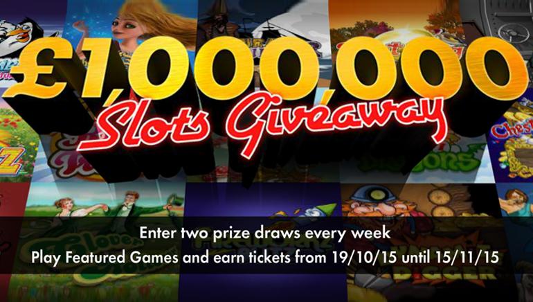 Gana una Fortuna Participando en la Promoción Obsequio £1.000.000/$1.500.000 de bet365 Casino