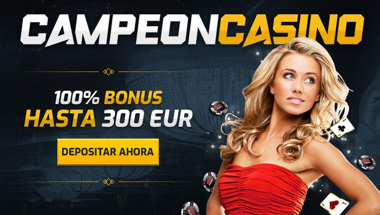 Maximiza tu primer depósito en el casino CampeonBet