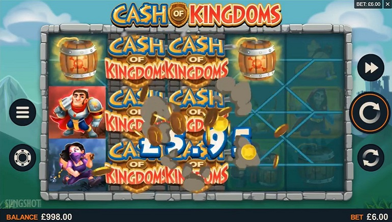 El último lanzamiento de Microgaming, Cash of Kingdoms, ya está disponible en vivo