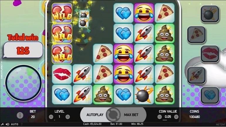 Los casinos de NetEnt lanzan la tragamonedas Emojiplanet