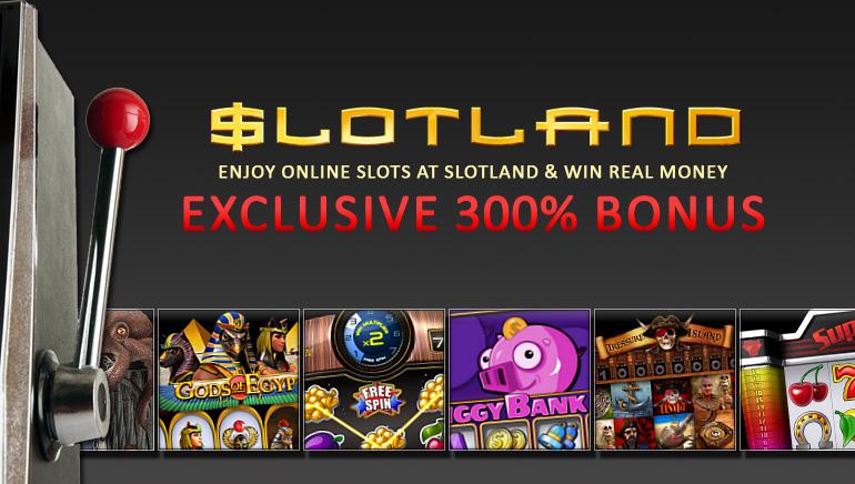 Exclusivo bono de 300% en Slotland para los lectores de OCR